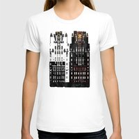 building T-shirts featuring Radiator Building by Steve W Schwartz Art