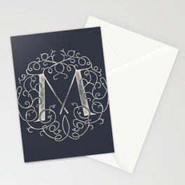 """M""ONOGRAM Stationery Cards"