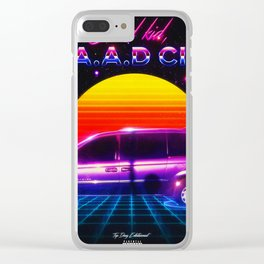 Good Kid, M.A.A.D City 1980s Style Clear iPhone Case