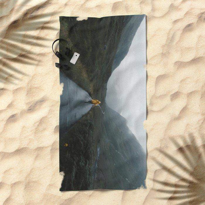 Skyfall - Landscape Photography Beach Towel
