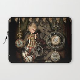 There Will Always Be Time Laptop Sleeve