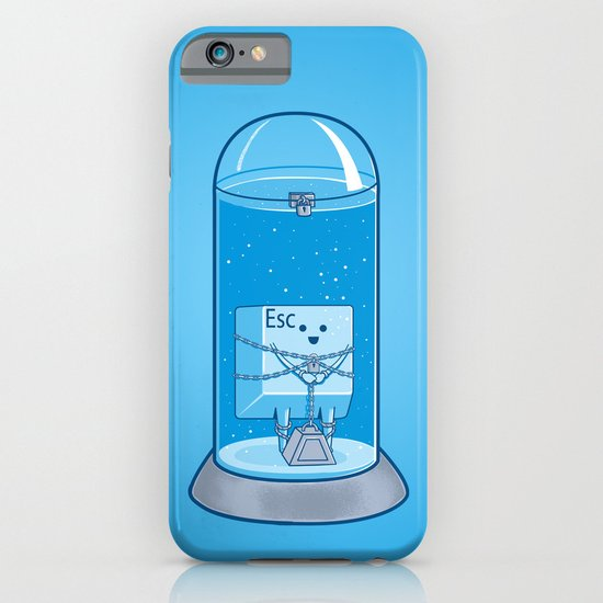 The Great Escape Artist iPhone & iPod Case