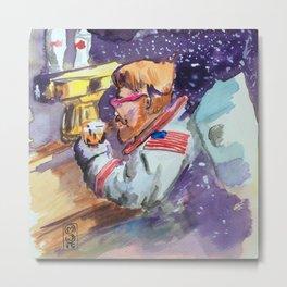 Space Station Bushwick Metal Print