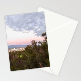 Hiking Trail View Stationery Cards