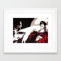american beauty Framed Art Prints featuring American Beauty by Pop Artist