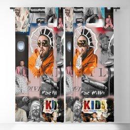 Mac Miller Rap Static Mixer Art Print Blackout Curtain