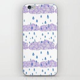 Raindrops keep falling... iPhone Skin