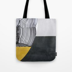 Streetart in Gray and Ochre Tote Bag