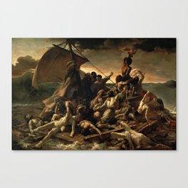 The Raft of the Medusa by Théodore Géricault Canvas Print
