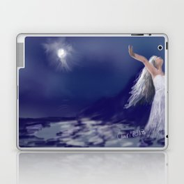 Dance with the moon Laptop & iPad Skin