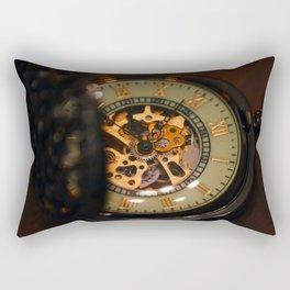 vintage clock_25 Rectangular Pillow