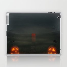 jack-o'-lanterns Laptop & iPad Skin