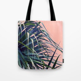 Feather Palm Tote Bag