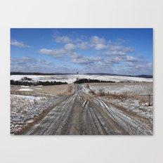 Lepley Road Canvas Print