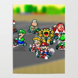 Mario Circuit Poster