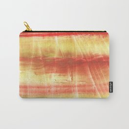 Red yellow Carry-All Pouch