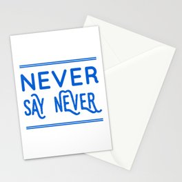 You Never Know What's Coming Stationery Cards