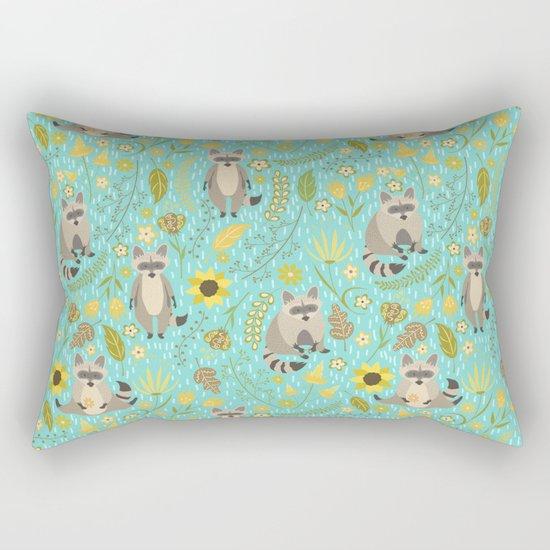 Cute raccoons Rectangular Pillow