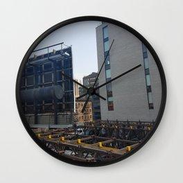 city_4 Wall Clock