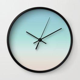 Beach Gradient Wall Clock