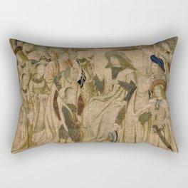 Ester Presented to Ahasuerus Rectangular Pillow