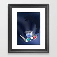 KWeb #5 : Jurrassic Park 3D Framed Art Print