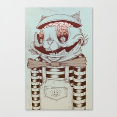 Kitty Fun Canvas Print