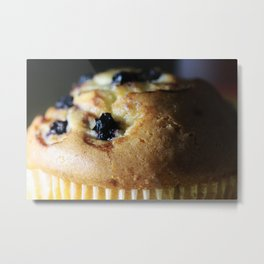 Blueberry Muffin Metal Print