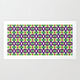 geometron mesh 56920 gmtrx Art Print