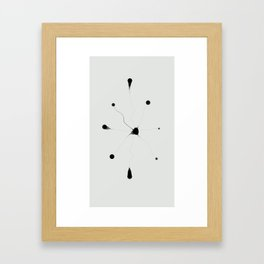 brain cell Framed Art Print