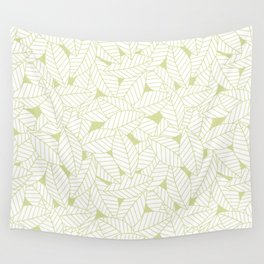 Leaves in Fern Wall Tapestry