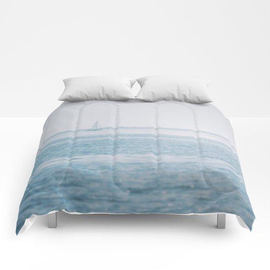 Shimmering Sea Comforters