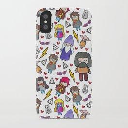 Wizards iPhone Case