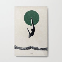 Dive ... Metal Print