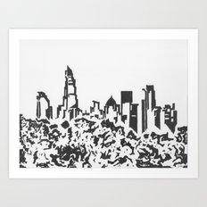 Banktown Art Print