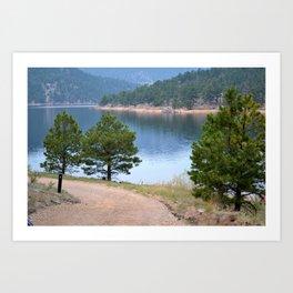 Rocky Mountain Lake 1 - M Art Print