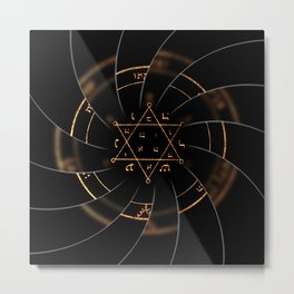 sacred magic Metal Print