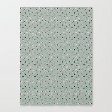 Kitchen Story Pattern Canvas Print