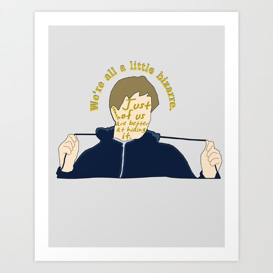 The Breakfast Club - Andrew Art Print
