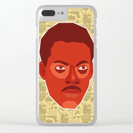 Axel Foley - Beverly Hills Cop Clear iPhone Case