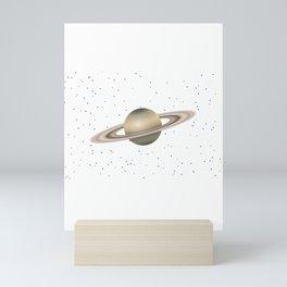 Planet Satrun Mini Art Print