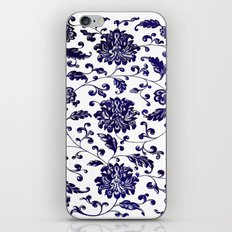 Chinese Floral Pattern iPhone Skin