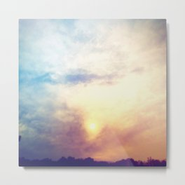 Before the storm, Metal Print