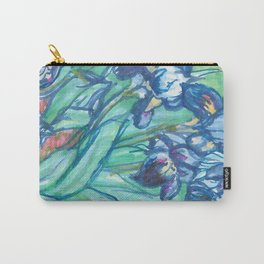 Recomposed: Irises Carry-All Pouch