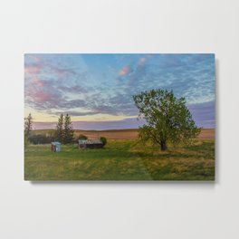 Once was a Homestead Metal Print