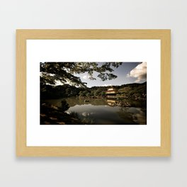 Kinkakuji/The Golden Pavilion II, Kyoto Framed Art Print