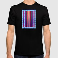Lava Lamp Mens Fitted Tee LARGE Black