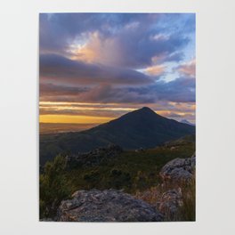 Valley Skyscape Poster