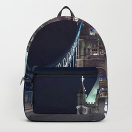 Historically Charged Romantic Tower Bridge At Night London City England United Kingdom Ultra HD Backpack