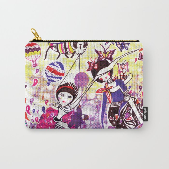 The case of purple spot sickness Carry-All Pouch